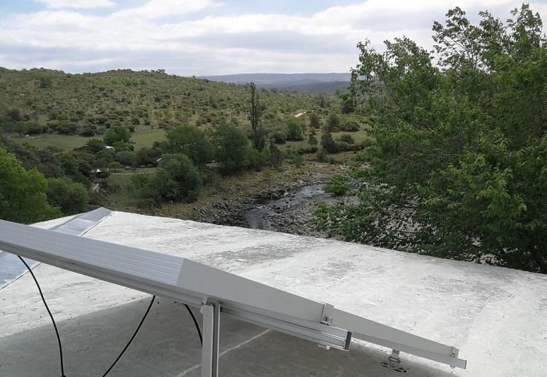 Un sistema Fotovoltaico para Golpe de Agua